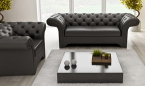 Machester - exclusive quilted sofa