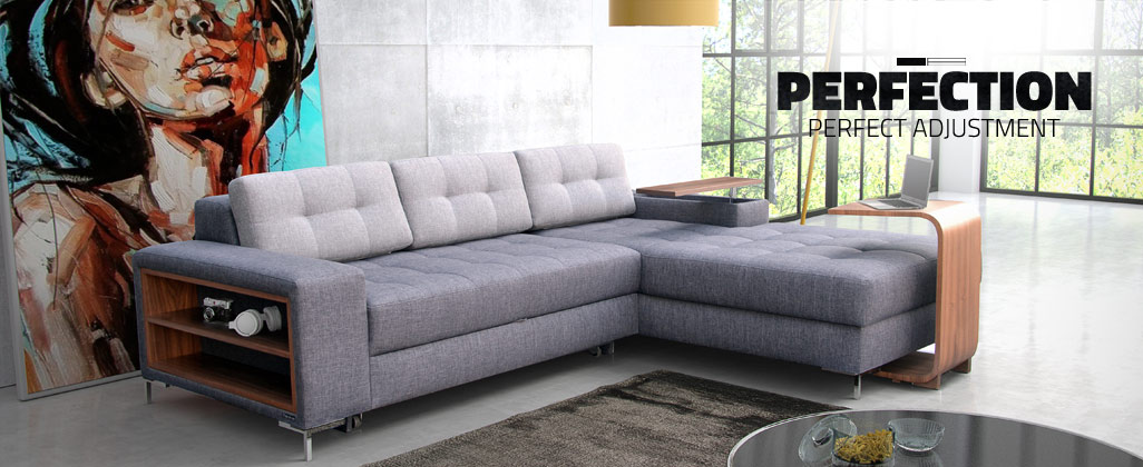 Modern and exclusive living room furniture - sofas, corner sofas ...