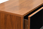The drawer in the table RTV Tip On