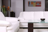 stylish set of furniture for the living room. 4
