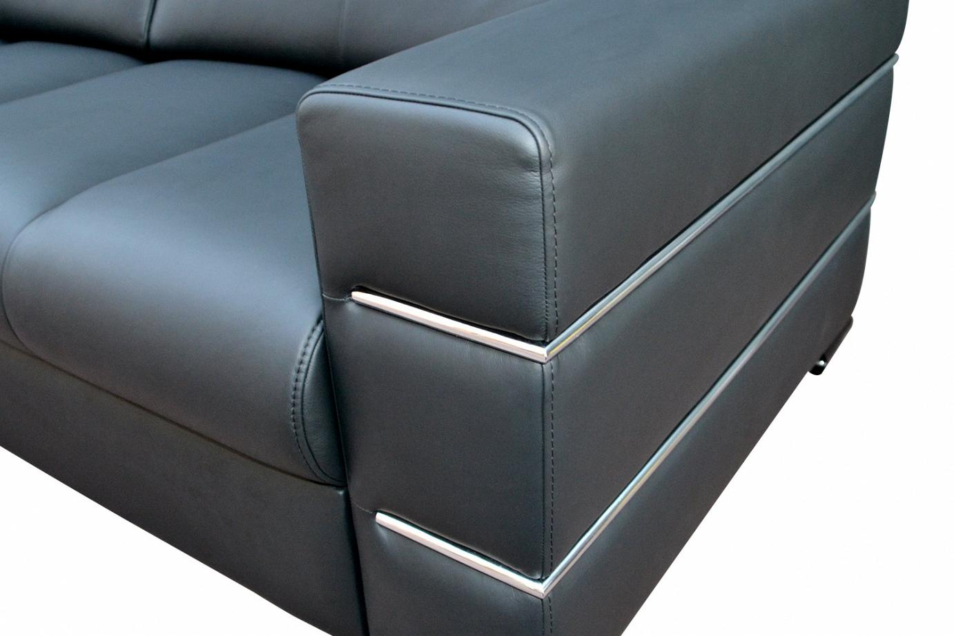 Chrome On The Armrests Of Sofas And Chairs Elegance