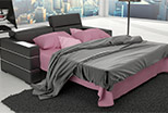 Sleep funkction in the sofa Elegance 210 cm
