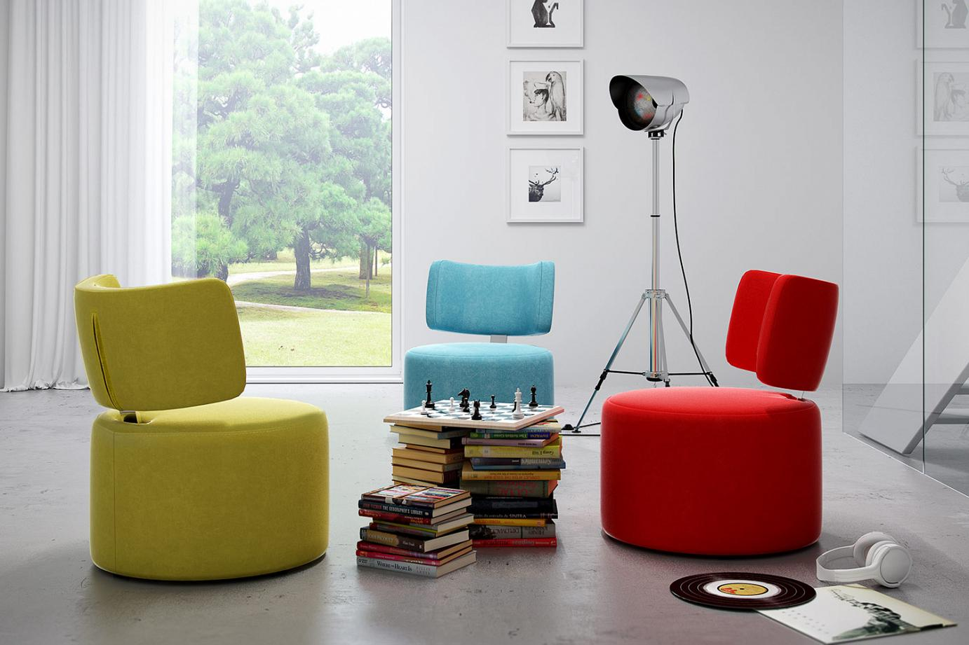 swivel armchair Fargo