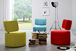 Design swivel ottoman Fargo
