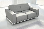 Sofa Lazarro 140 cm with traditional armrests