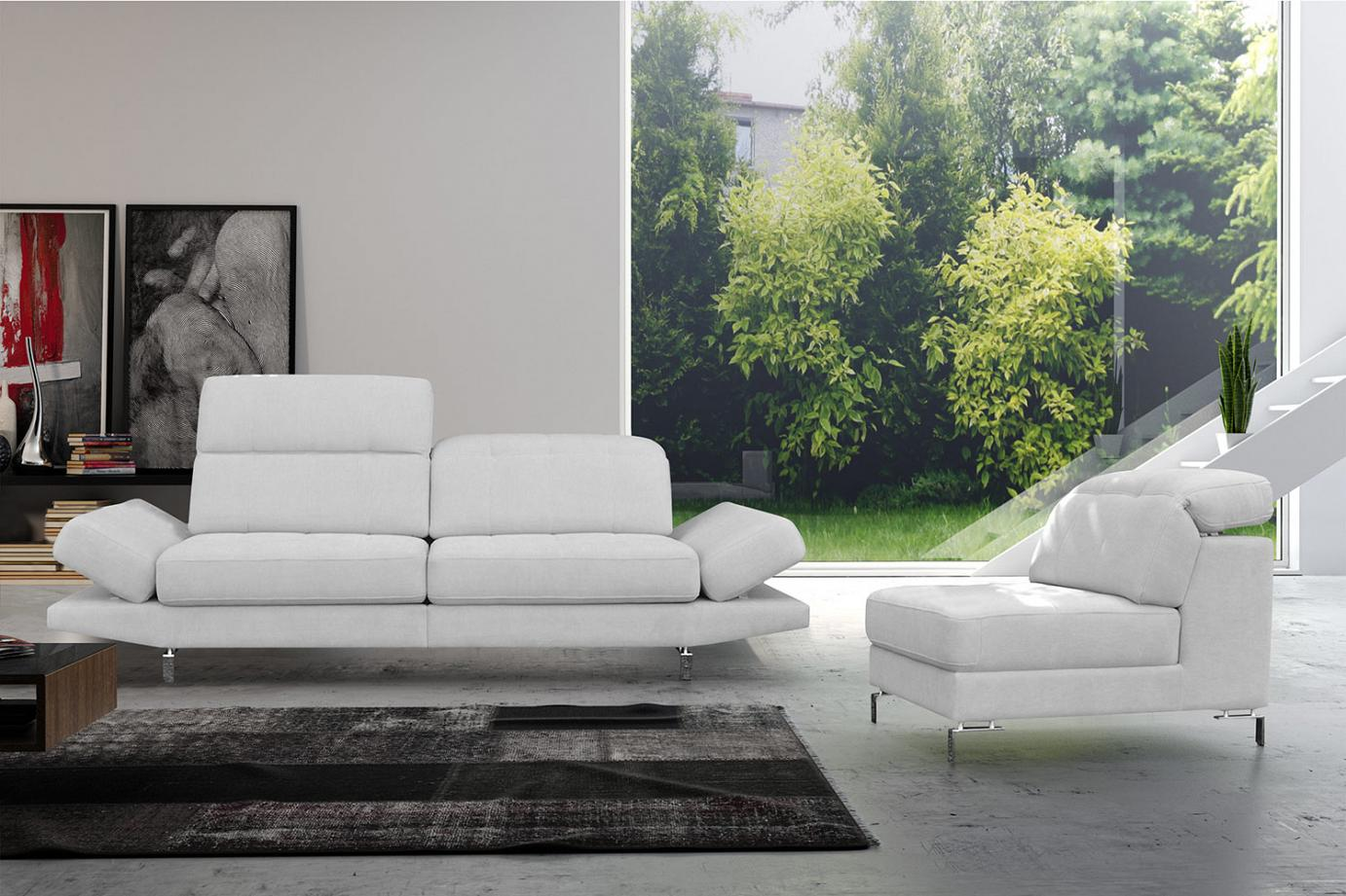 Lorena: The original sofa with an armchair
