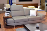 sofas poland - comfortable sofa with wooden cafetab