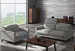 Stylized sofa and armchair Retro