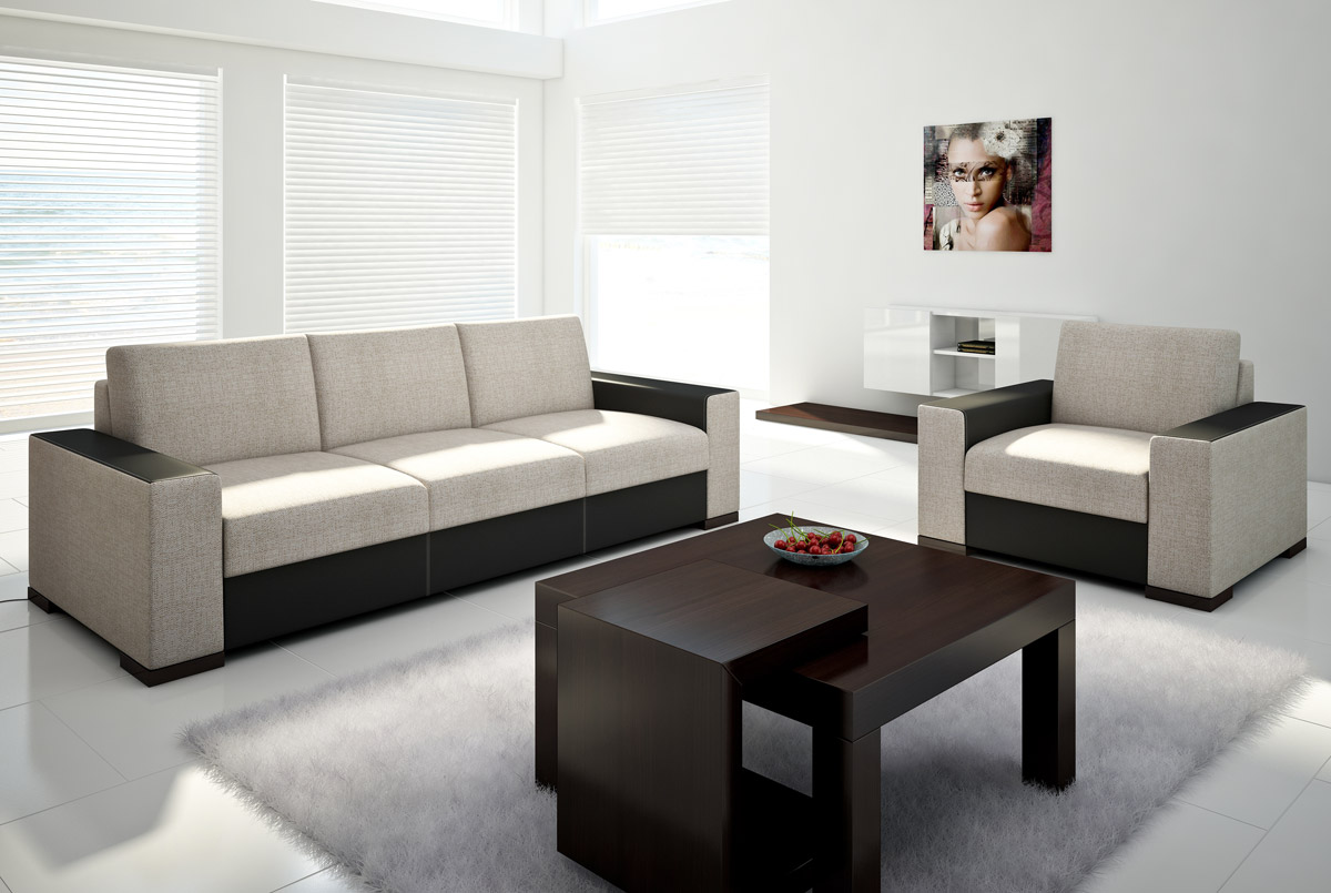uphlostered furniture with sleeping function
