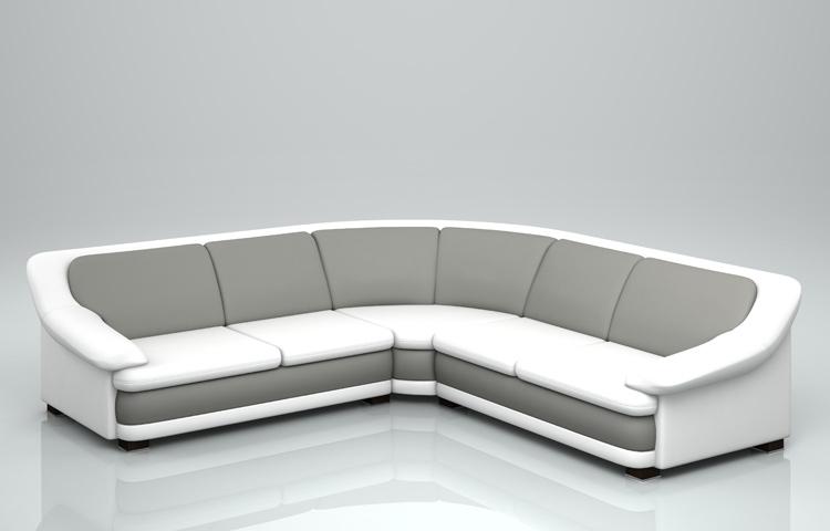 Stylish Ambasador Corner Sofa Custom Sized Furniture Set