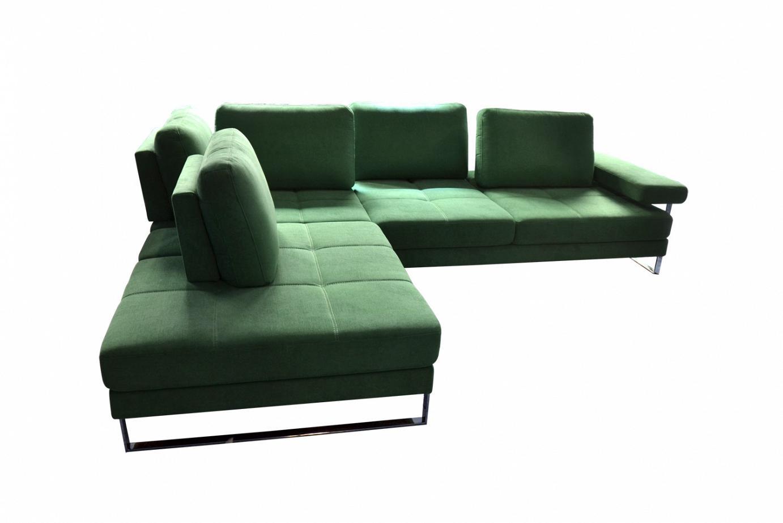 Fusion: Corner sofa with innovative headrest system