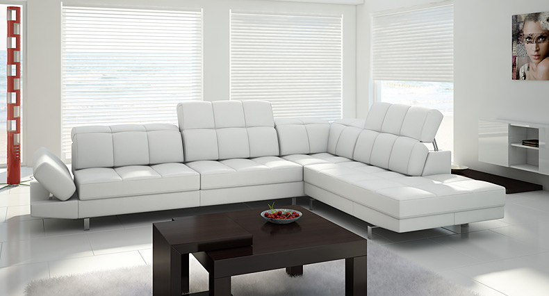 Designer Corner Sofa Lorena Italian Styling And Polish Production Beautiful Sofa1