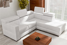 Corner sofa custom-sized 247 x 215 cm