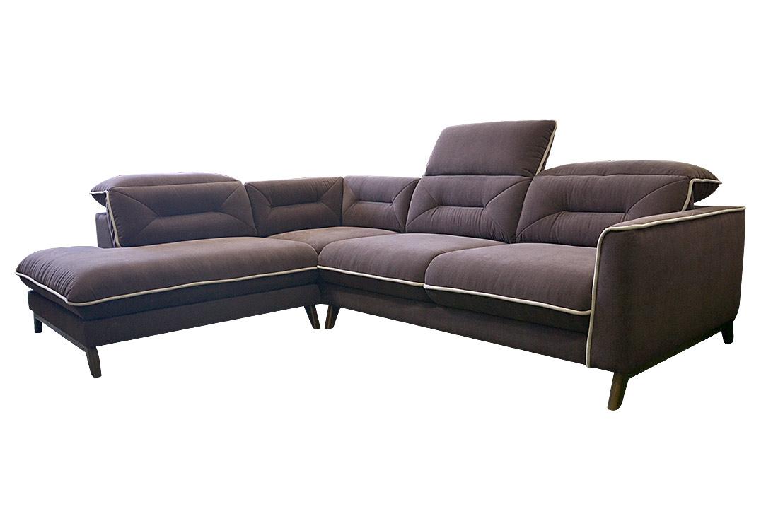 stylized retro corner sofa. Black Bedroom Furniture Sets. Home Design Ideas