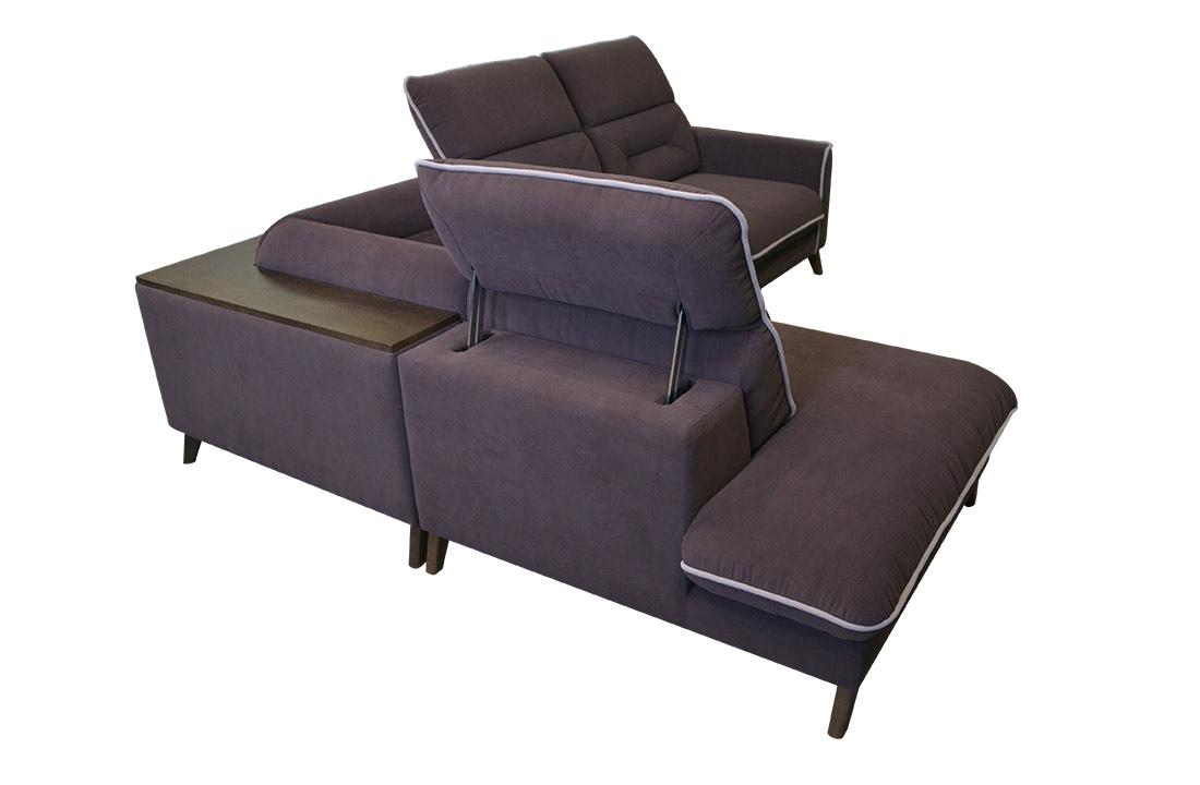 Stylized retro corner sofa stylized corner sofa parisarafo Choice Image