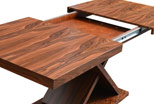 unfolded table