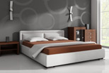 upholstered bedrooms