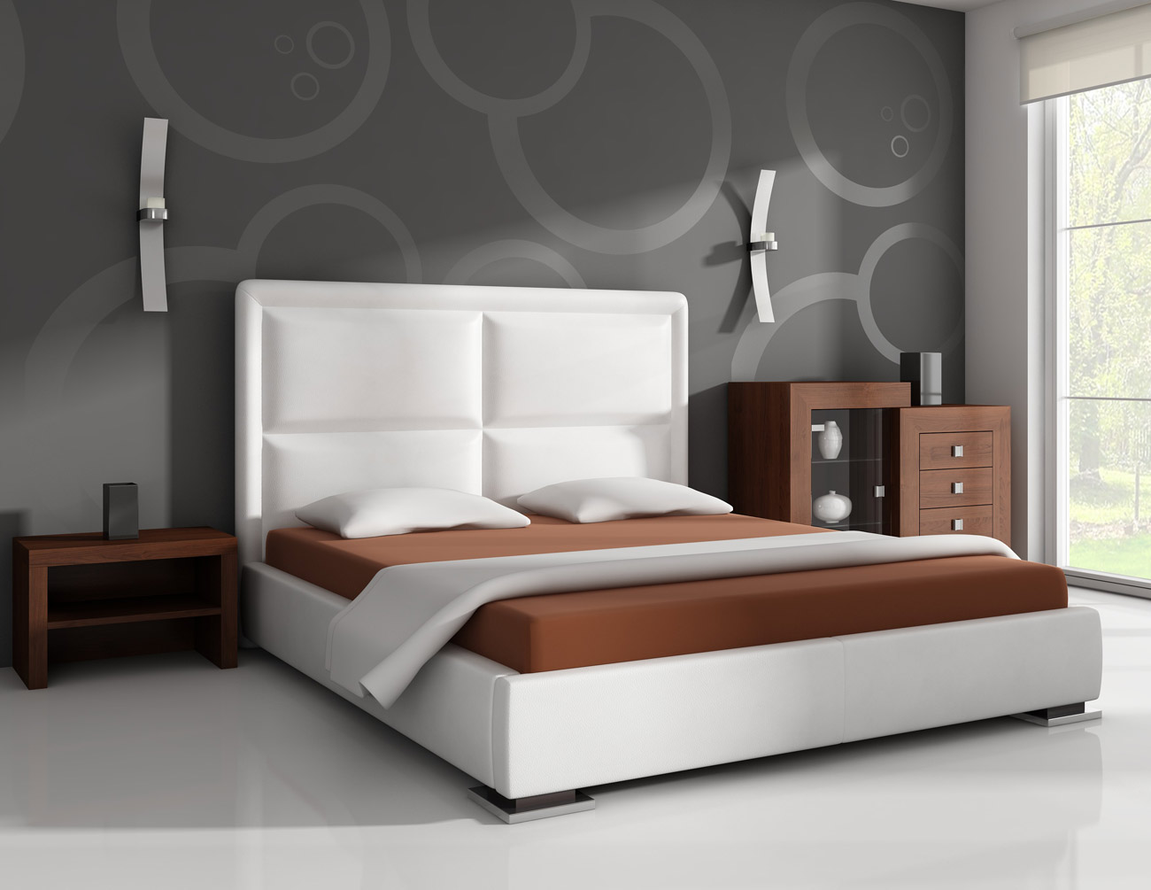 Upholstered Moa Bedroom Furniture Bed In Any Material