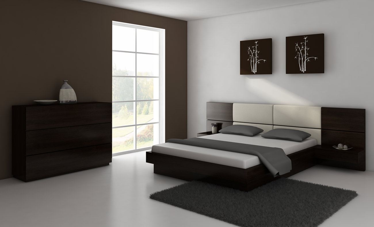Comfortable Bed With Container; The Original Collection Of Bedroom Furniture