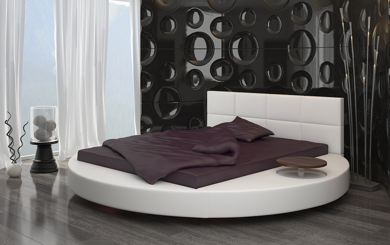 Turno - a bed on a round base